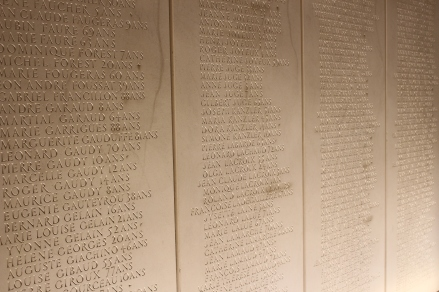 some of the names of the martyrs of Oradour